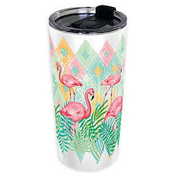 Flamingo 24 oz. Insulated Wrap Tumbler with Lid