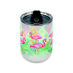 Flamingo 18 oz. Insulated Wrap Tumbler with Lid