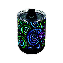 Indigo Falls® Circles 18 oz. Curved Insulated Tumbler with Lid