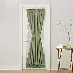 Sun Zero® Bella 72-Inch Rod Pocket Room Darkening Door Panel in Green