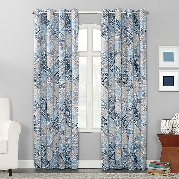 Sun Zero™ Sandra 95-Inch Gromet Window Curtain Panel