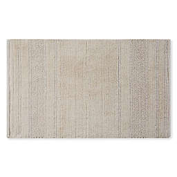 "Charisma® Lux 20"" x 30"" Hand Crafted Bath Mat in Almond Milk"