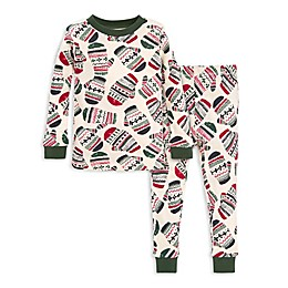 Burt's Bees Baby® 2-Piece Merry Mittens Organic Cotton Toddler Pajama Set