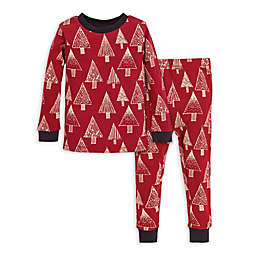 Burt's Bees Baby® 2-Piece Festive Forest Organic Cotton Toddler Pajama Set