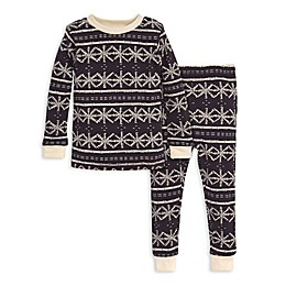 Burt's Bees Baby® 2-Piece Frozen Fair Isle Organic Cotton Toddler Pajama Set