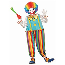 Silly Circus Clown Child's Halloween Costume