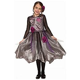 Sweet Skeleton Child's Halloween Costume