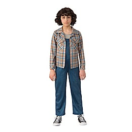 Stranger Things 2 Large Kid's Eleven's Plaid Shirt Halloween Costume