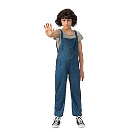 Stranger Things 2 Large Kid's Eleven's Overalls Halloween Costume