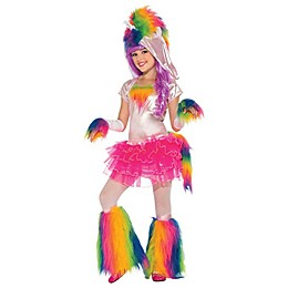 Rainbow Unicorn Child's Halloween Costume