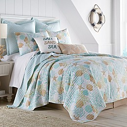 Coastal Living Humewood 3-Piece Reversible Quilt Set