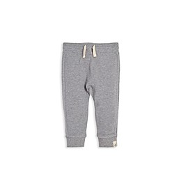 Burt's Bees Baby® Ribbed Organic Cotton Jogger in Grey