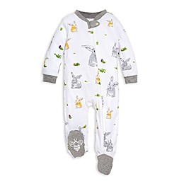 Burt's Bees Baby® Bunny Trail Footie in White