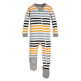 Burt's Bees Baby® Tri-Stripe Organic Cotton Toddler Footed Pajama