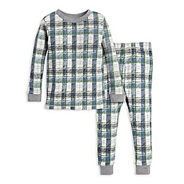 Burt's Bees Baby® 2-Piece Harvest Plaid Organic Cotton Toddler Pajama Set