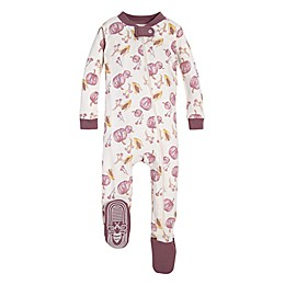 Burt's Bees Baby® Autumn Harvest Organic Cotton Toddler Footie in Purple