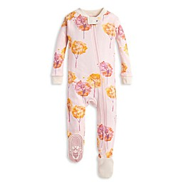 Burt's Bees Baby® Fall Foliage Organic Cotton Toddler Footie in Pink