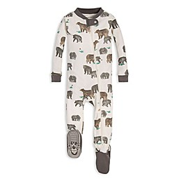 Burt's Bees Baby® Friendly Bears Organic Cotton Toddler Footie