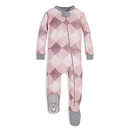 Burt's Bees Baby® Modern Argyle Organic Cotton Toddler Footie in Purple