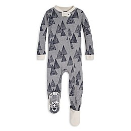 Burt's Bees Baby® Penned Peaks Organic Cotton Toddler Footie in Grey