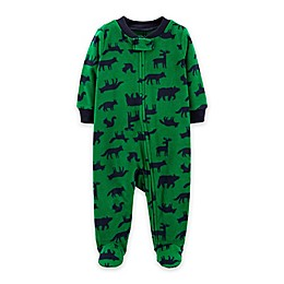 carter's® Forest Creatures Zip-Front Footie