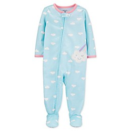 carter's® Clouds Toddler 1-Piece Footie PJs