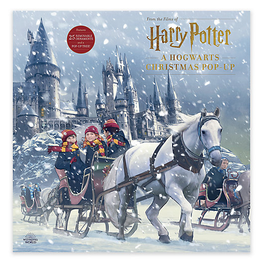 Alternate image 1 for Harry Potter Hogwarts Christmas Pop-Up Book by Insight Editions