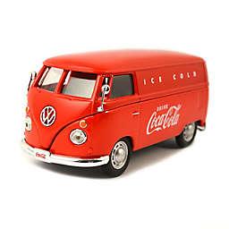 Coca-Cola® 1/43 Scale 1962 Volkswagen Diecast Cargo Van in Red