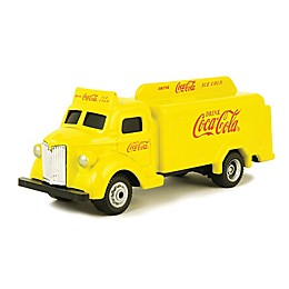 Coca-Cola® 1/87 Scale 1947 Cola Bottle Diecast Truck in Yellow