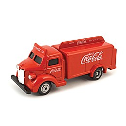 Coca-Cola® 1/87 Scale 1947 Cola Bottle Diecast Truck in Red