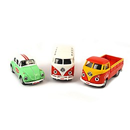 Coca-Cola® 1/72 Scale 3-Pack VW Diecast Cars