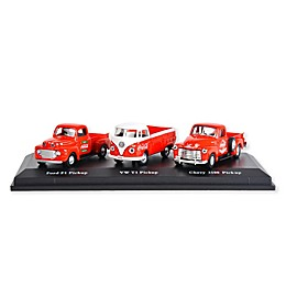 Coca-Cola® 1/72 Scale Classic Pickups Diecast Cars (Set of 3)