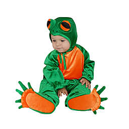 Size 0-6M Lil' Frog Infant Halloween Costume