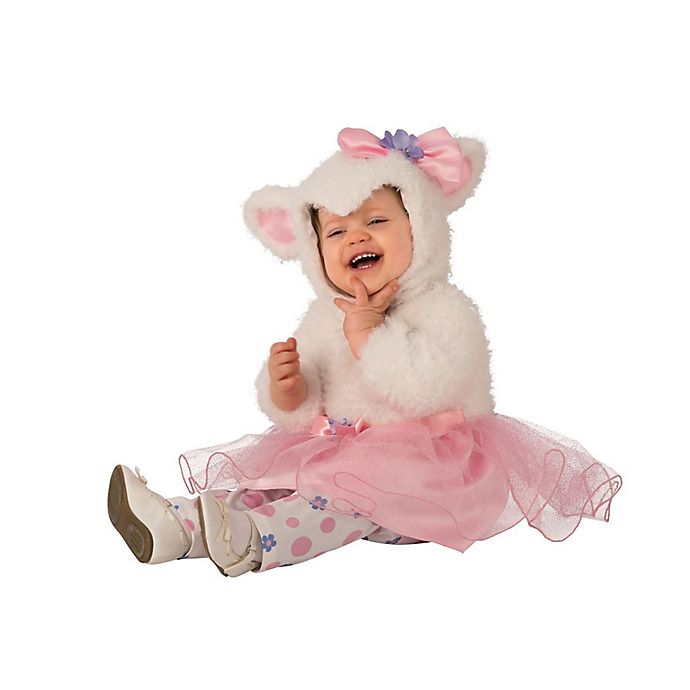 Alternate image 1 for Little Lamb Tutu Infant/Toddler Halloween Costume