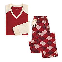 Burt's Bees Baby® Men's 2-Piece Abstract Argyle Organic Cotton Pajama Set
