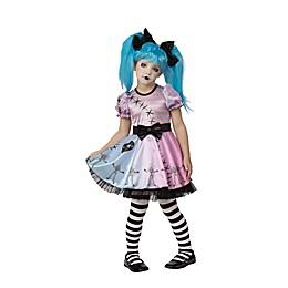Little Blue Skelly Child's Halloween Costume