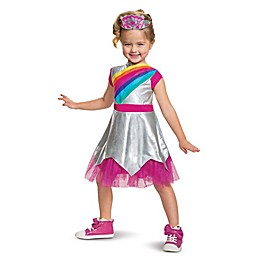 Rainbow Rangers Rosie Classic Child's Halloween Costume in Silver