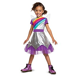 Rainbow Rangers Lavender Classic Child's Halloween Costume in Silver