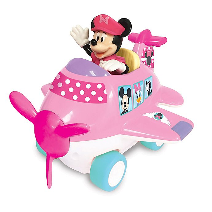 Alternate image 1 for Disney® Minnie Mouse & Friends Interactive Airplane Toy