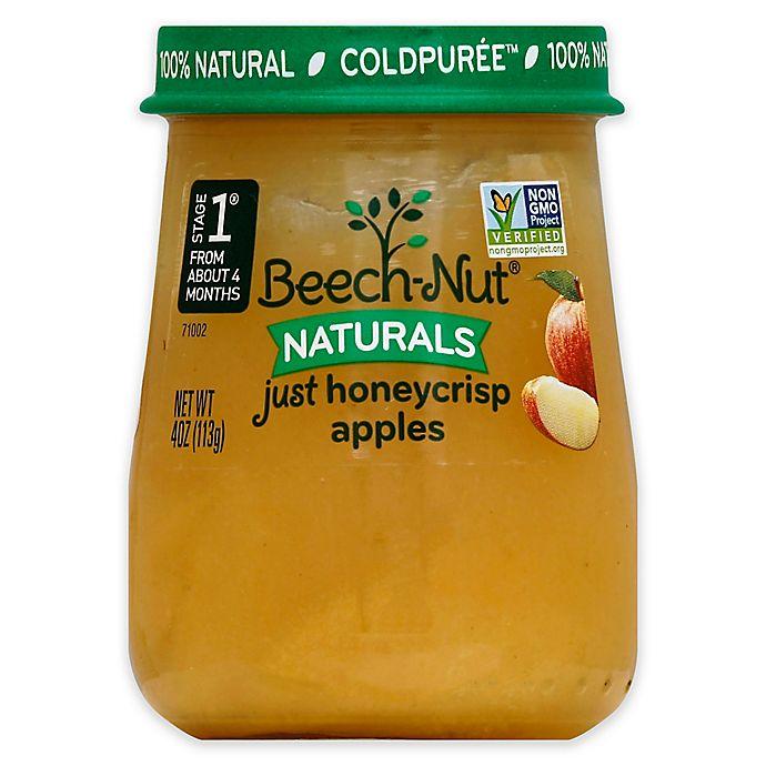 Alternate image 1 for Beech-Nut® Naturals™ Stage 1 Just Honeycrisp Apples Baby Food Puree