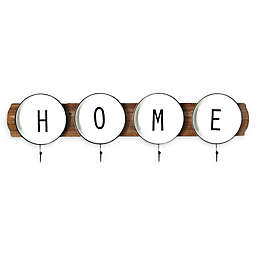 "Stratton Home Décor ""Home"" Wall Coat Rack"
