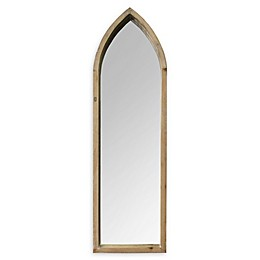 Stratton Home Décor Cecilia 10.24-Inch x 34.06-Inch Wall Mirror in Natural