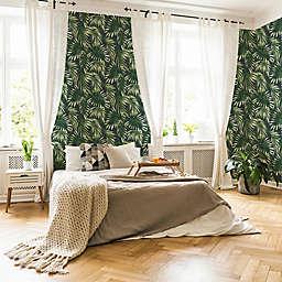 Elegant Leaves Vinyl Wallpaper