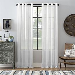 Archaeo® Slub Linen Grommet Semi-Sheer Window Curtain Panel