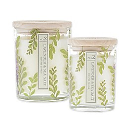Bee & Willow™ Home Lavender and Sea Salt Cylinder Jar Candle Collection