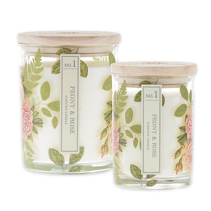 Alternate image 1 for Bee & Willow™ Home Peony and Rose Cylinder Jar Candle Collection