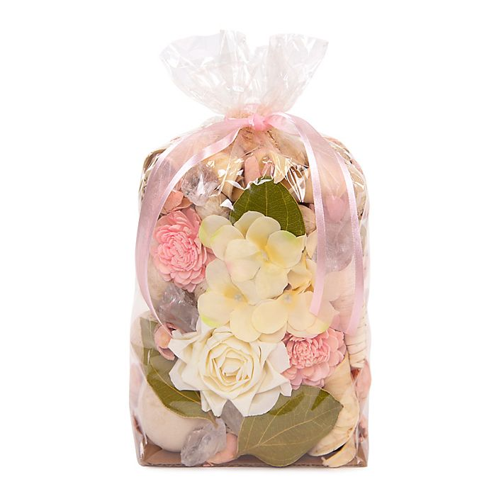 Alternate image 1 for Bee & Willow™ Home Rose and Hydrangea Potpourri Bag in Pink
