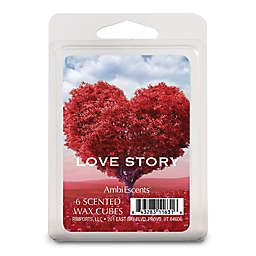 AmbiEscents™ 6-Pack Love Story Scented Wax Fragrance Cubes