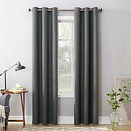 No.918® Montego Textured Grommet Semi Sheer Window Curtain Panel