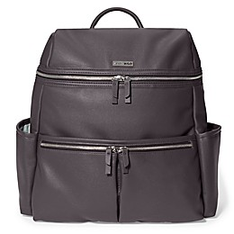 SKIP*HOP® Flatiron Diaper Backpack in Grey Raisin
